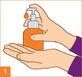 Passo 1: Lava e asciuga le mani