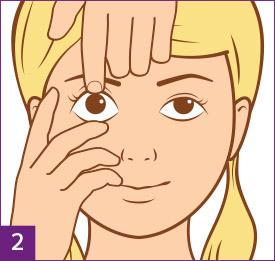 Passo 2: Preparati a rimuovere le lenti a contatto